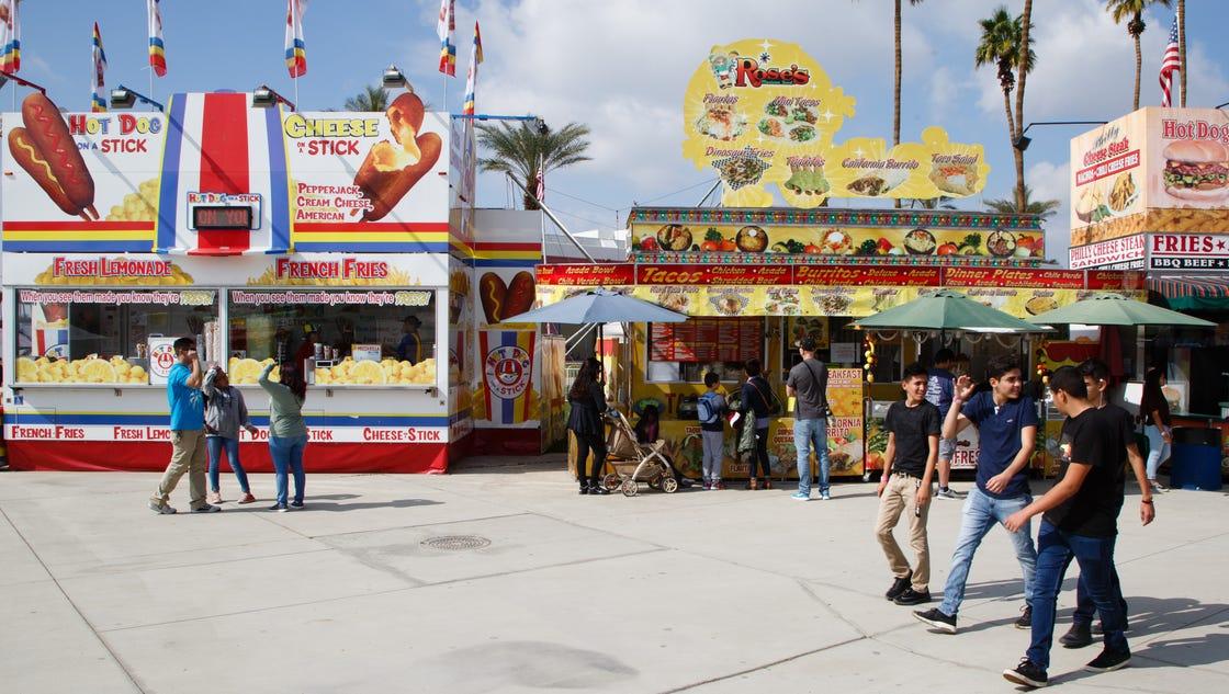 Indio date festival in Perth