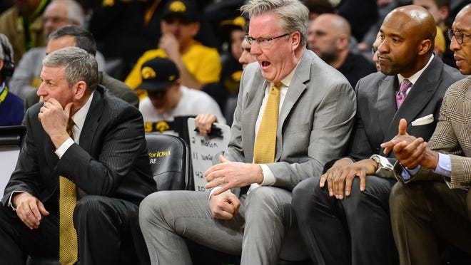 It's been that kind of season for Fran McCaffery and the Iowa Hawkeyes.