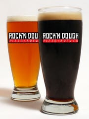 Beers from Rock'n Dough Pizza & Brew Co.