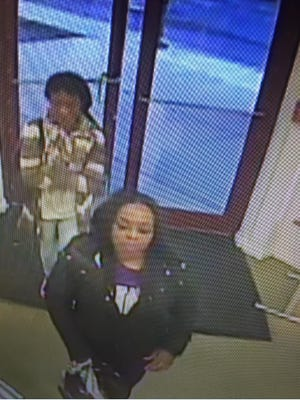 Police say the women in this photo are suspected of stealing clothing from the Children's Place outlet in Rehoboth