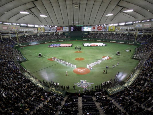 AP APTOPIX JAPAN ATHLETICS MARINERS BASEBALL S BBO FILE JPN