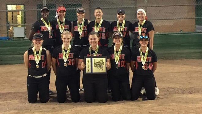 Back Row L to R  Amidori Anderson, Madi Peters, Rebekah Elwell, Jesse Blanton, Mercedes Rothwell, Danielle Jackson Front Row L to R  Anna Bonk, Candace Durney, Cassidy Angotti, Ally Young, Sarah Gray Coaches:  Don Angotti, Dave Gray, Rich Bangert
