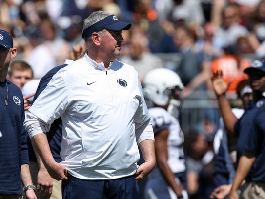 Penn State offensive coordinator Joe Moorhead is now