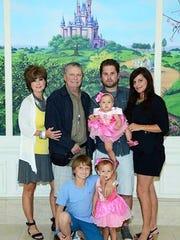 The Spreng family took a trip to Disney World as Dan's