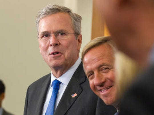 Former Florida governor and current GOP presidential contender Jeb Bush is set to attend an Aug. 4 event in Brentwood.
