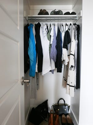 Courtney Carver is the creator of Project 333, which encourages women to downsize their closet to 33 items each season.