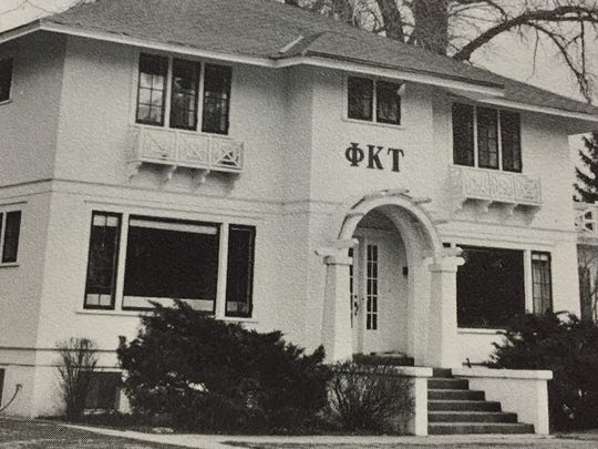 The Phi Kappa Tau fraternity had a short-lived life