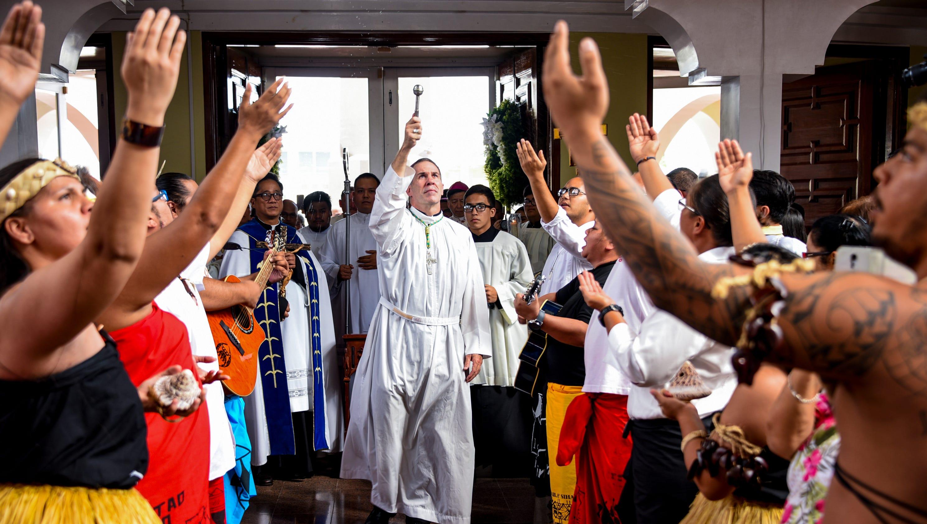 New archbishop begins Guam ministry amid Apuron's Vatican trial