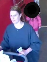 Do you know this woman? Toms River police say she is a suspect in the theft of money from another woman's purse at the Target on Hooper Avenue.