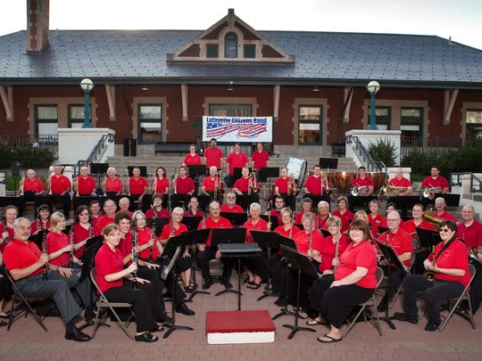The Lafayette Citizens Band kicks off its season Monday with a Memorial Day performance.