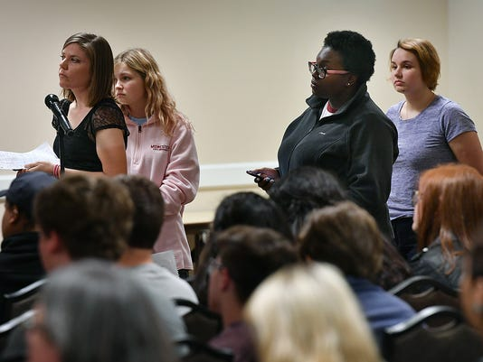 MSU Sexual Misconduct Forum 1