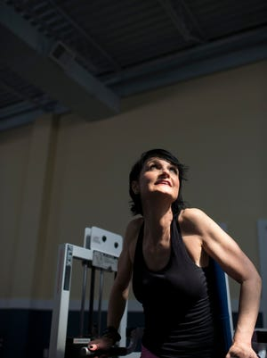 """Cassandra Parker, a fitness instructor from Lewes, lives by the motto: """"You can be strong at any age."""""""