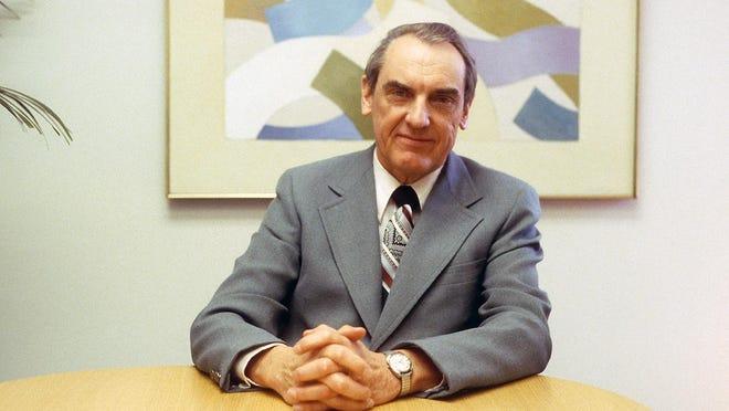 Former Hope College President Gordon Van Wylen died at age 100 Thursday, Nov. 5.