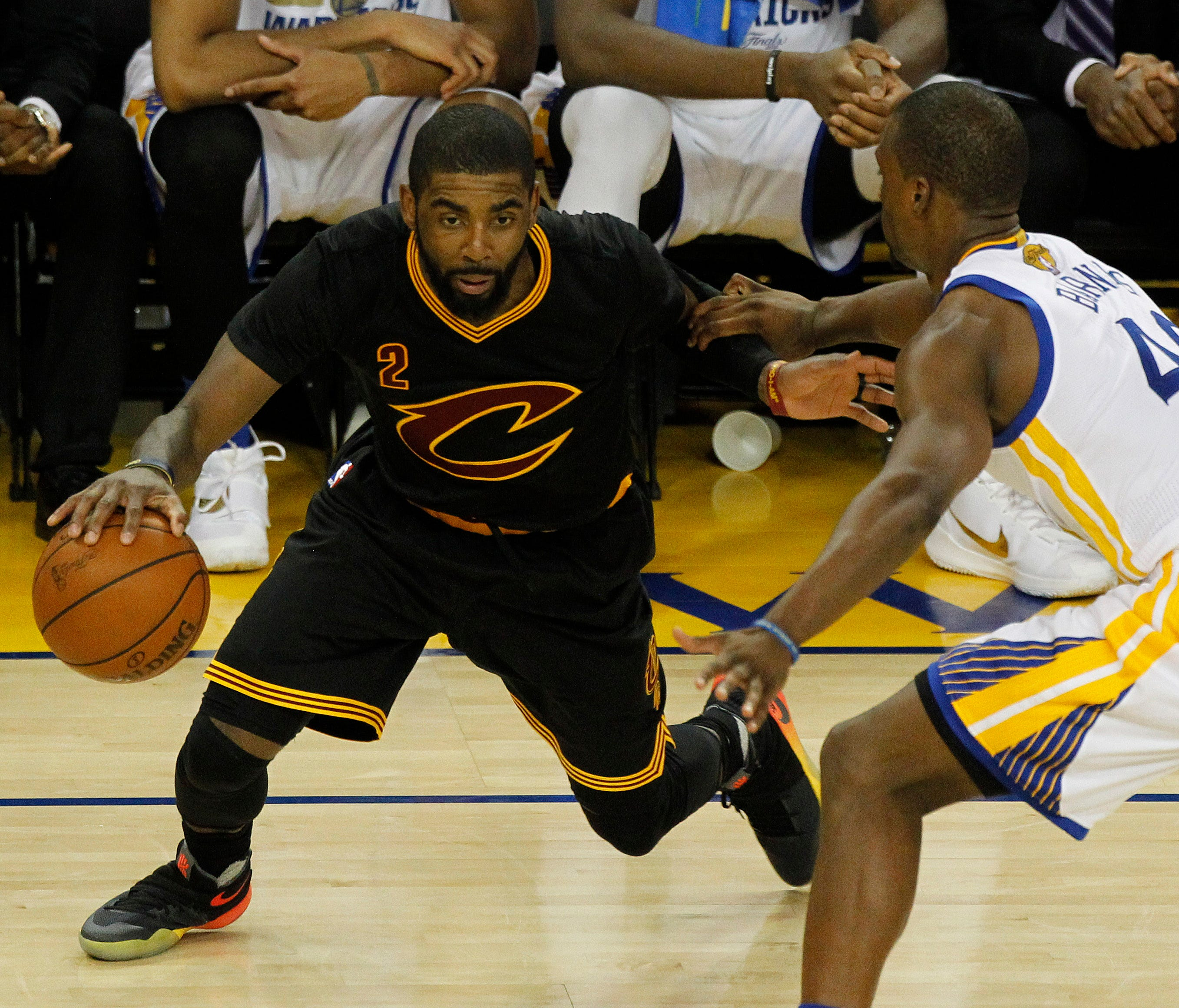 e09cd765823 Kyrie Irving s best game gets Cavs back into Finals