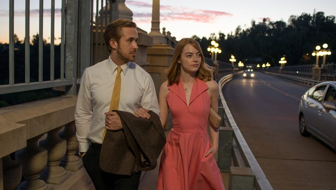 Ryan Gosling and Emma Stone star in 'La La Land'.