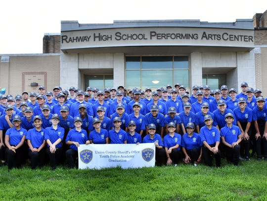 Graduates of the 2018 Union County Sheriff's Youth