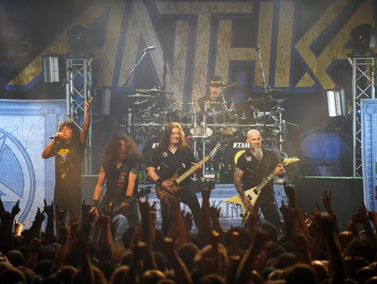 Anthrax co-headlines the Rave with Killswitch Engage