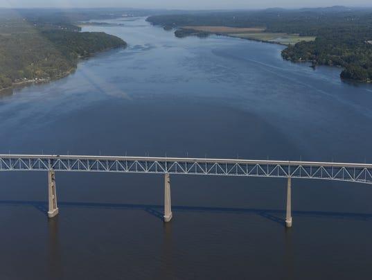 Aerial Photo - Rhinecliff Bridge