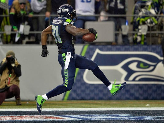 Seattle Seahawks safety Kam Chancellor
