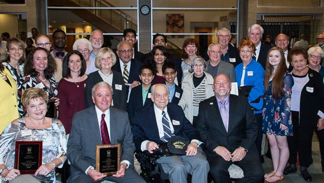 Oakland County Commissioner Bill Dwyer was given the Nancy Bates Distinguished Public Service Award.