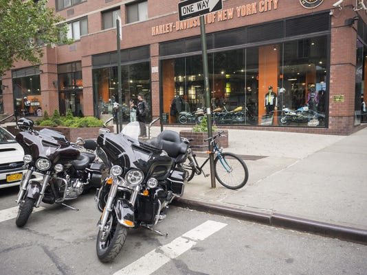 Harley-Davidson is eliminating 180 jobs after earnings fall from weaker US sales