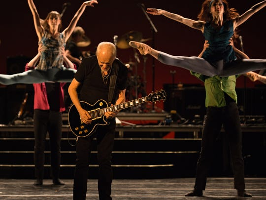 Performances by Peter Frampton, center, provided Cincinnati Ballet with sold-out shows and proved ballet is relevant to modern audiences.