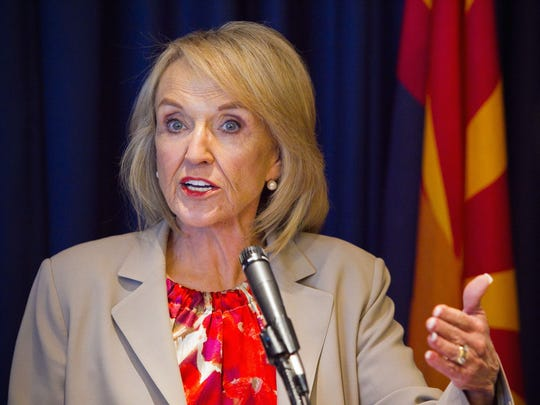 Former Arizona Gov. Jan Brewer said she would be open