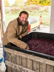 Ian Barry served as assistant winemaker for Heron Hill
