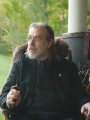 Author Caleb Carr.