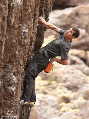 Alex Honnold, a famous rock climber known for his free solo ascents, will sign copies of his book Friday afternoon at The Desert Rat in St. George.