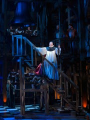 """Patrick Page as Frollo in """"The Hunchback of Notre Dame"""""""