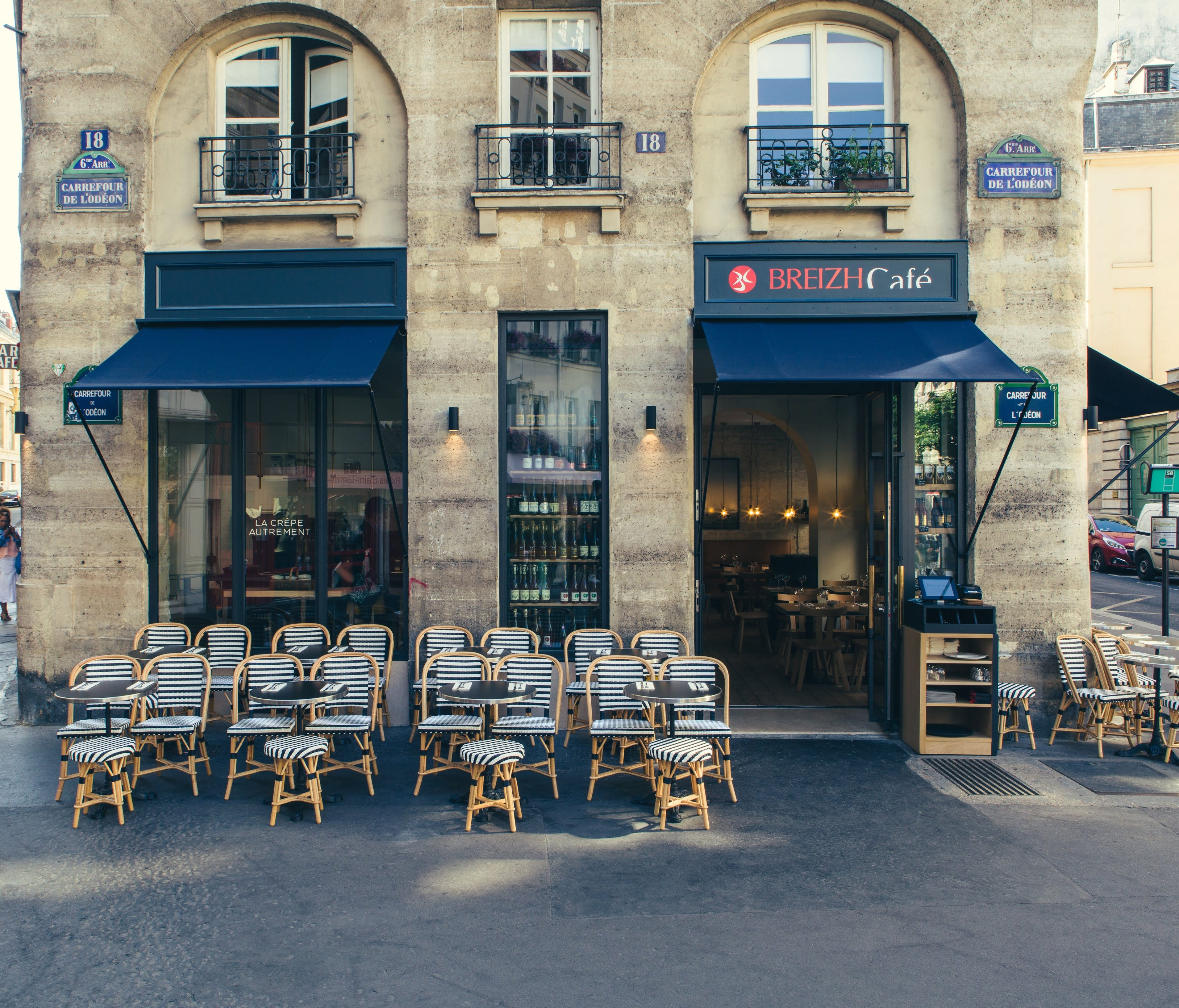 What's more French than crepes? The place to get your crepe on in Paris is Breizh Cafe -- the original restaurant is in the Marais district and an outpost recently opened in Saint Germain.