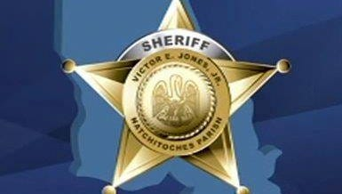 A Mora man who was raking leaves with a cocked revolver in his pants pocket ended up with a gunshot wound to his upper thigh late Tuesday morning, according to the Natchitoches Parish Sheriff's Office.