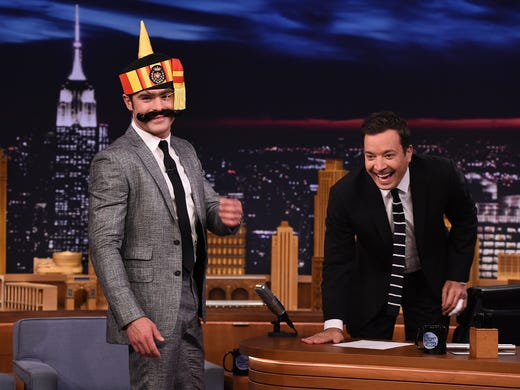 Jimmy Fallon Back At Tonight After Gruesome Injury