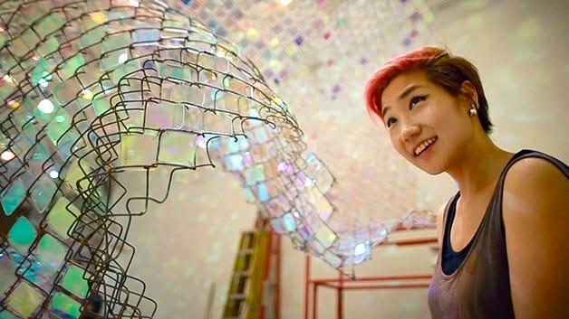 Artist Soo Sunny Park.