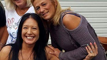 Marlina Medrano, left, was known for her infectious smile. She is pictured with friend Maxine Becker, right.