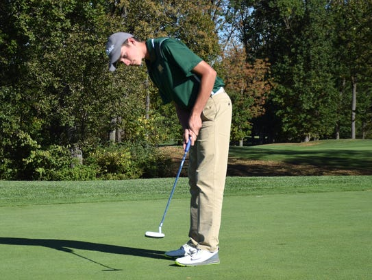 Sophomore Patrick Smith had the low score for Wilson