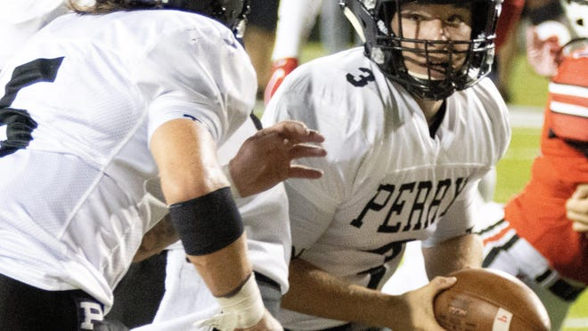 Perry at McKinley on Saturday, Sept. 19, 2020.