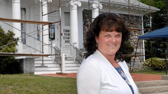 William Fogg Library Director Lydia Goodwin. Goodwin and the library trustees are seeking to establish a Memorandum of Understanding with the town of Eliot to formalize the town's financial support for the library.
