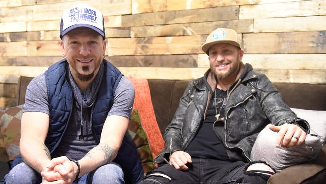 LoCash Cowboys, Chris Lucas and Preston Brust talk about their hit single at the Hot Seat Jan. 27, 2016 in Nashville, Tenn.