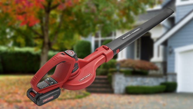 Ditch the rake this fall—this cordless leaf blower is at its lowest price ever