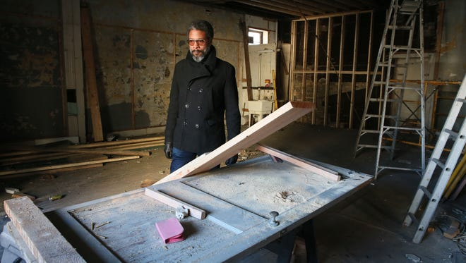 Reginald Baylor will open his shop in a building being remodeled at 211 W. Florida St. in Walker's Point.