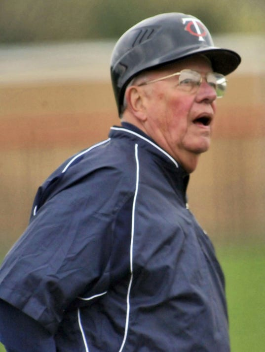 Chambersburg's Bob Thomas coaches his team during action against Central Dauphin East in 2013. He announced his retirement Tuesday, Aug. 4, after coaching for 51 years.