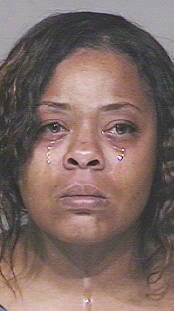 Shanesha Taylor's mugshot.