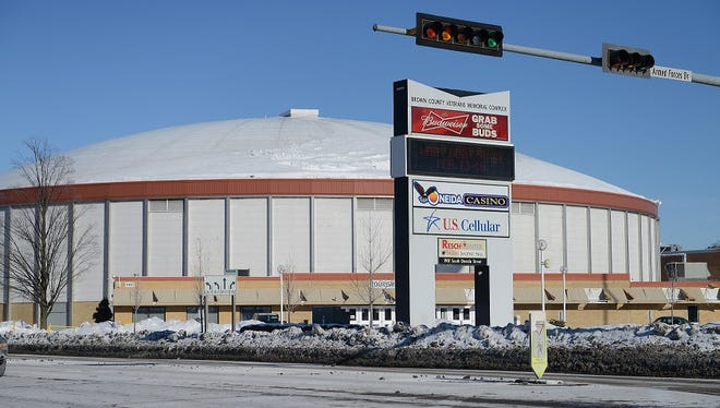 The 2017 Brown County budget doesn't offer any substantial vision on what to do with the arena, an issue that hasn't been addressed in years.
