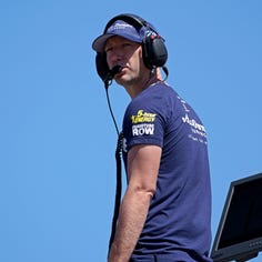 How radio communication provided a winning tool and changed the course of NASCAR racing