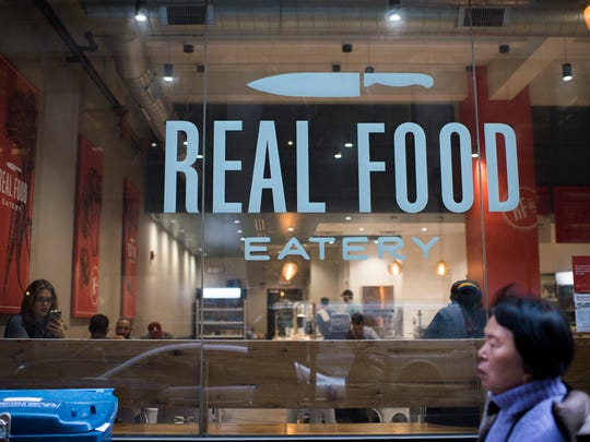 Real Food Eatery in Philadelphia is owned by two South Jersey friends.