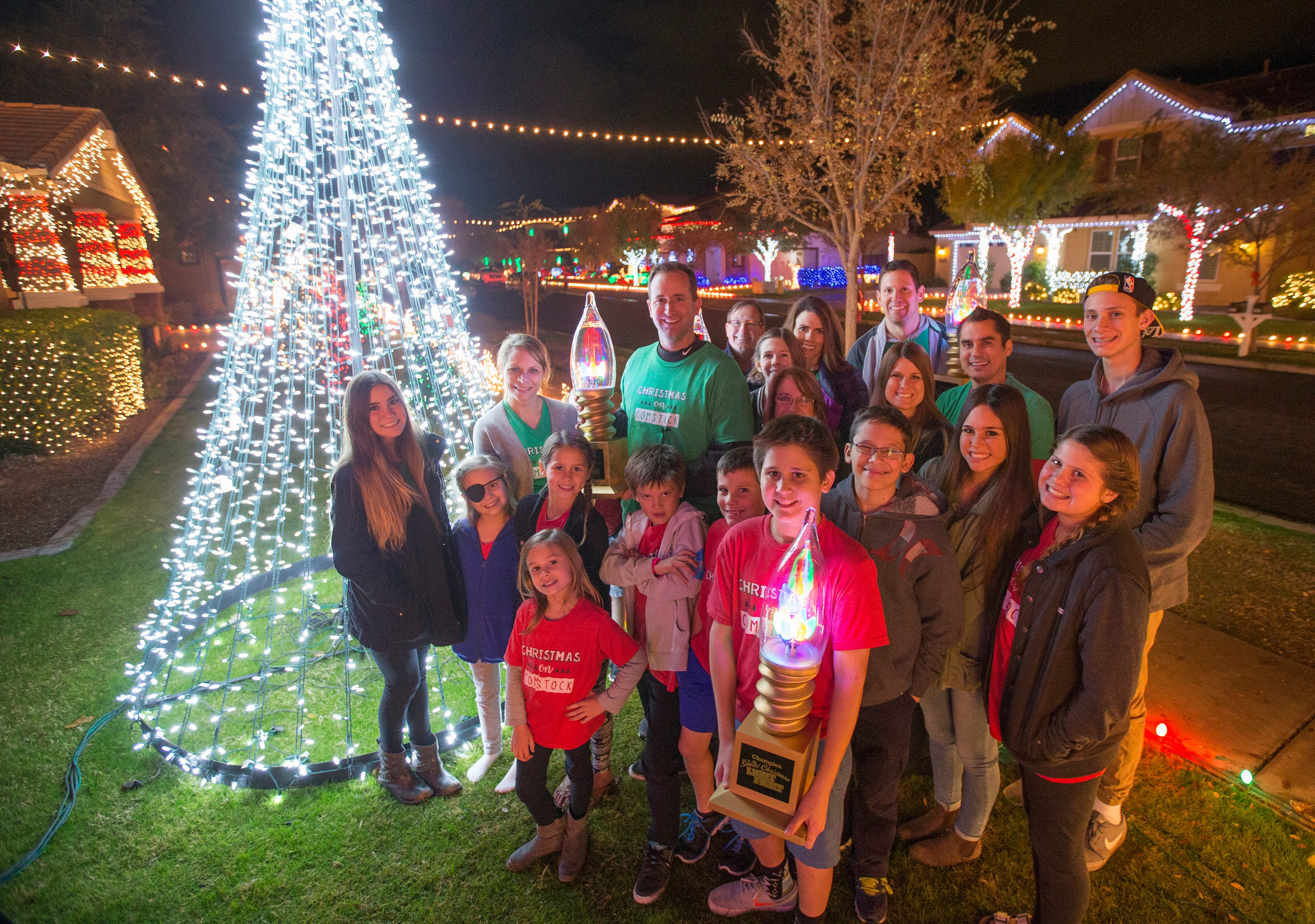 ahwatukee christmas lights map 2015 red