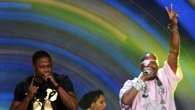 Doug E. Fresh, left, and Slick Rick will perform at Lucas Oil Stadium on Sept. 24.