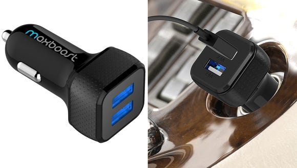 Keep your device, and your passenger's fully charged
